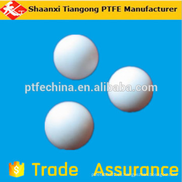 Bola de esfera ptfe resistente a alta presión