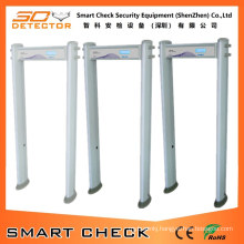 6 Zone Cylindrical Metal Detector Gate Archway Metal Detector Gate