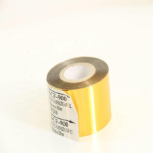 gold hot print foil for plastic bag for printing date and batch on HP241b