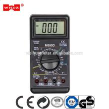 Multímetro digital M890D DT890B + Multímetro de alta precisión con zumbador con prueba de capacitancia