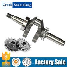 Shuaibang fait sur commande dans des pièces de rechange de vilebrequin de pompe à eau en aluminium d'essence de la Chine