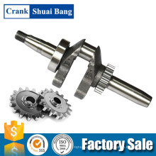 Shuaibang Custom Made In China Aluminium Gasoline Water Pump Crankshaft Spare Parts