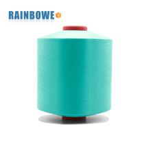 prix usine 3075 / 72F 100% polyester air recouvert de spandex