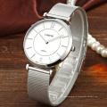 Luxury Custom Mesh Japan Movement Stainless Steel Watch