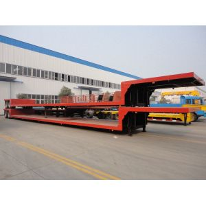 New lowbed semi truck with trailer for sale