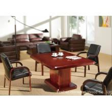 Table de réunion de bureau de petit bureau, table de conférence de bureau moderne (HF-MH7062)