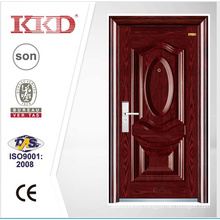 Luxury Steel Security Door KKD-205 With Steel 3D Panel And Convex From China Manufacture