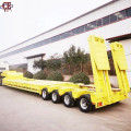 4-Line 8-Axis 150ton Gooseneck Low Bed Trailer