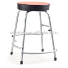 2017 современный дизайн круглое сидение дома стул красной кожи