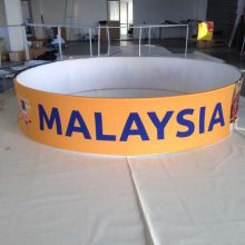 Ceiling Hanging Banner Display Sign With Printing