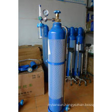 Aluminium Alloy Medical Oxygen Gas Cylinder, Oxygen Gas