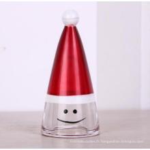 Gros chapeau décoratif cristal Noël