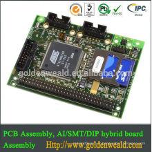 pcba projet électronique pcb fabricant et assemblé pcb 4 couches carte PCB Assemblée