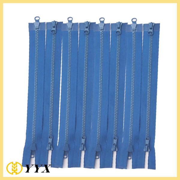 VSM Top and Bottom Pull 2 Way Open End Plastic Zipper