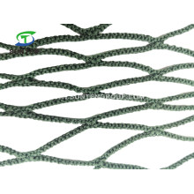 Navy Green Color Polyester Knotless Cargo/Truck Container/Fall Arrest/Safety Catch/Polyethylene Golf Net in Construction Sites, Amusement Park