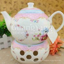 Ensemble de thé arabe émaillé en porcelaine de différentes capacités