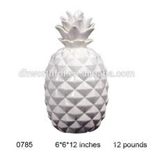 Белые керамические ананасы оптом