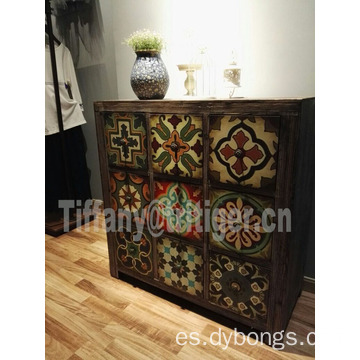 Wholesale Vintage Shabby Home Furniture Used Wooden Storage Cabinet