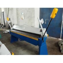 Wh06- 1.2X3200 Manual Sheet Metal Bending Machine, Sheet Metal Folder The Iron Hand Folding Machine