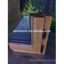 high quality wooden aluminum frames 2014 hot sale