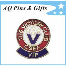 Emblema da lembrança do metal com emblema duro do esmalte (badge-042)