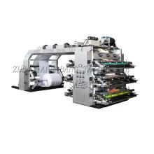 6 colores de alta velocidad de la máquina de impresión Flexo (CE)