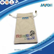 Bolsas de joyería de lujo por encargo de la tela