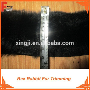 Para las tiras de la piel de la ropa / Rex Rabbit Fur Trimming