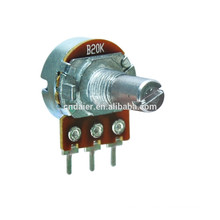 16K1 pcb mount potentiometers with switch rotary potentiometer