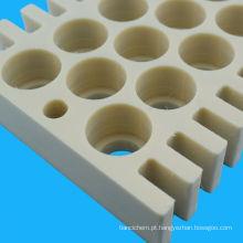 Folha de nylon plástica de mecanização 6