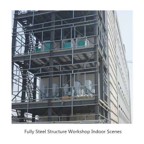 Fully Steel Structure Workshop Indoor Scenes 2