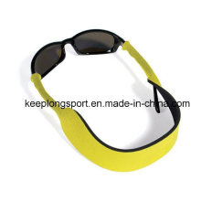 Lunettes de néoprène populaires Bracelet, lunettes de soleil en néoprène Support de sangle