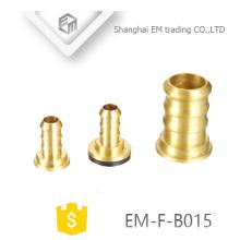 EM-F-B015 raccord de tuyau de tétine de tête de pagota en laiton