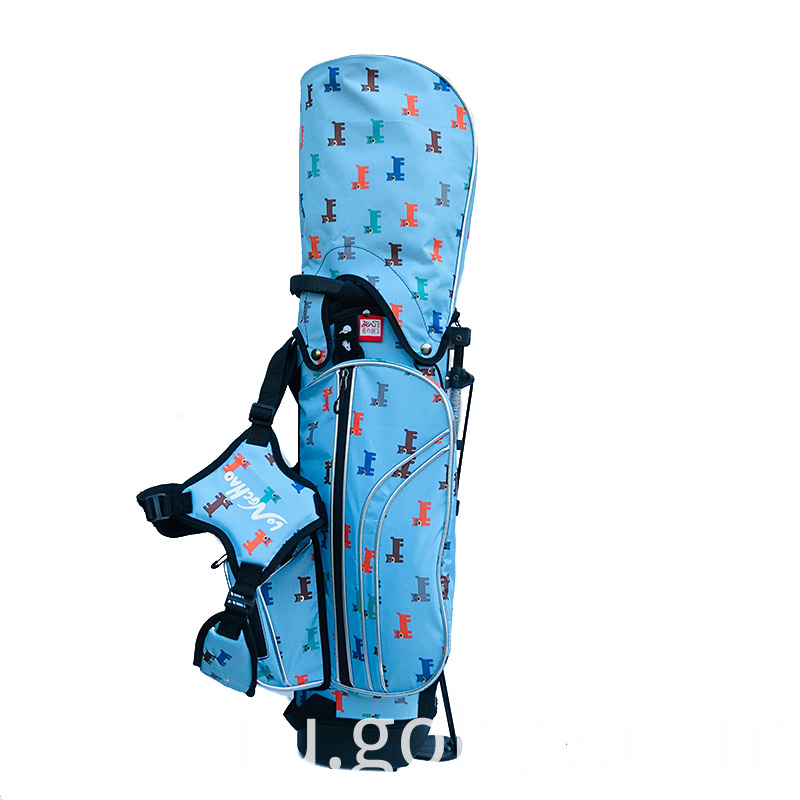 Puppy Print Golf Bag