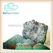 Silicon carbide abrasive for surface treatment