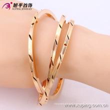 51436-Xuping Jewelry Fashion 3 pcs/Set Multi layer Gold Plated Bangles