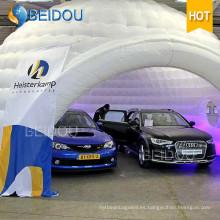Fábrica personalizada inflable partido carpa Event Car Garage Dome boda tiendas carpa inflable