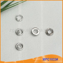 Prong Snap Button/Gripper with fashion Ring Cap MPC1033