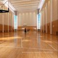 Антискользящий 22мм крытый спортивный Баскетбол Клен деревянный настил твердой