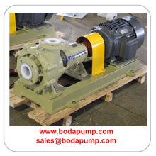 Corrosion Abrasion Resistant Mortar Pump