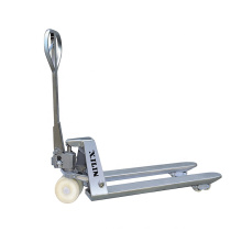 Xilin 5500lbs 2.5T CE Certified Hydraulic Pump Hand Stainless Steel Pallet Truck