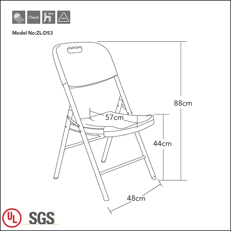 Cheap Foldable Wedding Chair