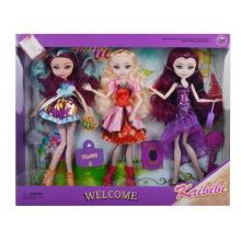Muñeca de juguete de moda de plástico de 11 pulgadas para niños en venta (10226287)