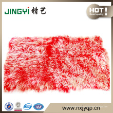 Оптовая Создают Длинные Волосы Монгольский Овчины Меховой Пластины
