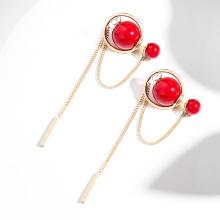 Stud Earing 925 Sterling Silver Earring Tassel Earrings