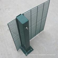 2018 pó quente do Pvc da venda revestiu a malha da anti-subida da segurança 358/358 redes da prisão da cerca de segurança