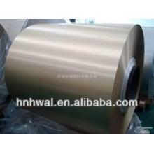 Roller Coating Aluminium Coil pour décoration