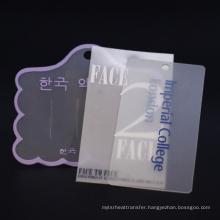 Custom Logo Name Uv Hang Tag Printing Garment Black Paper  Hang Tag Clothing