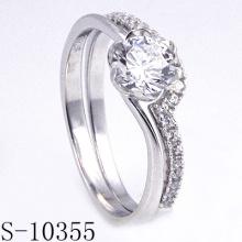 El más nuevo diseño simple joyería de la boda (S-10355)