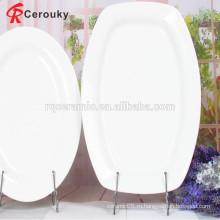 Микроволновая печь высокого качества дешевые цены белый ужин пластины фарфора фрукты пластины